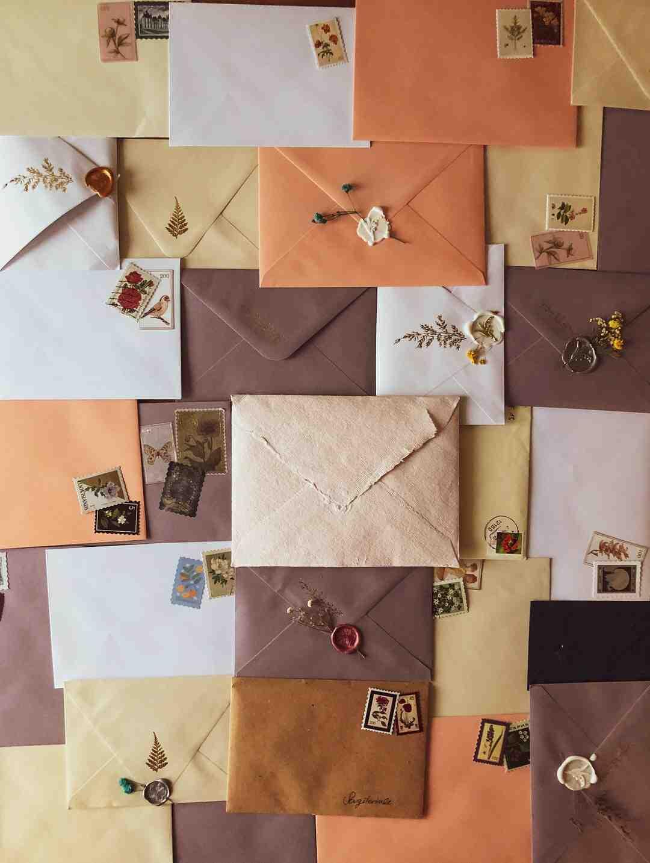 Comment ecrire sur une enveloppe